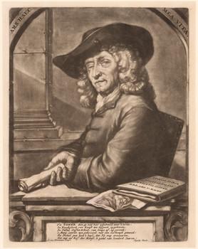 Porträt Jan Pietersz. Somer (1641 - 1726).