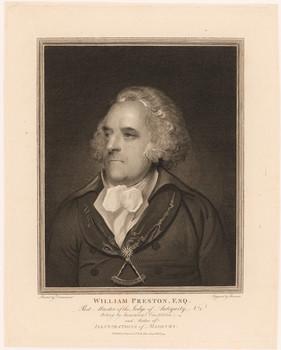 Porträt William Preston (1742 - 1818).