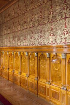Wandvertäfelung Inneres Vertäfelung Der Nordseite Blick Von