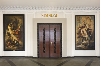 Aschenbrödel (Inneres - Foyer, Raumansicht)