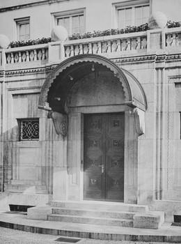 Villa Feinhals — Tür (Äußeres - Hauptfront, Haustür); Haustür der Villa Feinhals