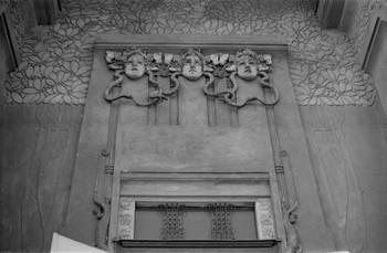 Sezession Kunstaustellungsgebäude — Relief