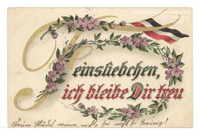 Image from object titled Feinsliebchen, ich bleibe Dir treu