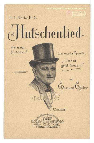 Hutschenlied - Gehn ma Hutschen!