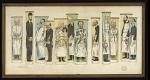 [Les professeurs de la Faculté de médecine de Paris] Bezançon - Achard - Widal - Prenant - Marfan - Chauffard - Carnot - Jeanselme - Sergent - Waquez - Balthazard - Labbé