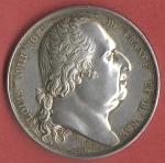 Avers : LOUIS XVIII - ROI DE FRANCE ET DE NAV. - Tranche: Lisse. MONSIEUR FOURCY, OFFICIER-DE-SANTE A BONNEMARIE , 1820 *. - Revers : en exergue LA VACCINE MDCCCIV Andrieu, F.