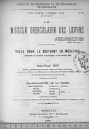 Image from object titled Le muscle orbiculaire des lèvres