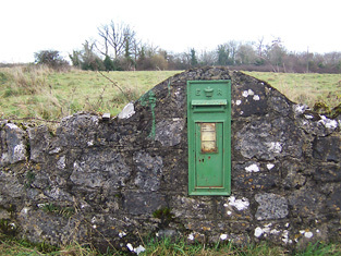 Image from object titled post box