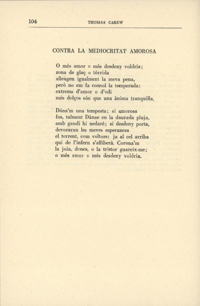 Image from object titled Contra la mediocritat amorosa