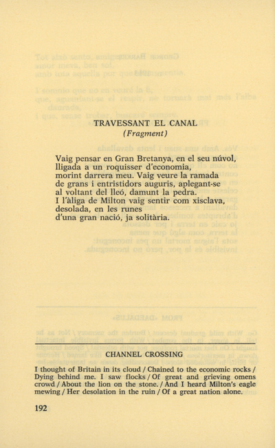 Image from object titled Travessant el canal (fragment)