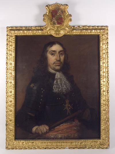 Portret van Hendrick de Sandra, gouverneur van de vesting Deventer (1619-1707)
