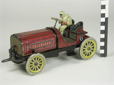 Racewagen met chauffeur
