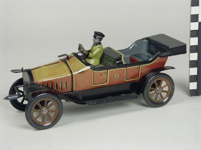 Auto met chauffeur