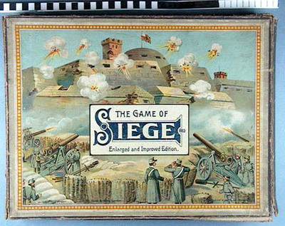 Image from object titled The game of siege