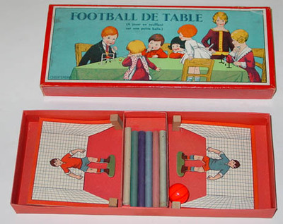 Image from object titled Football de table