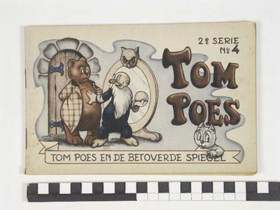 Tom Poes en de betoverde spiegel