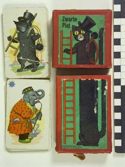 """Image from object titled Spel """"Zwarte Piet"""""""