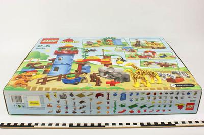 Stadsdierentuin van Lego Duplo. Speelgoed van het jaar 2009 in de categorie van 0 - 4 jaar