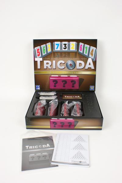 Tricoda spel kraak je eigen code, speelgoed van het jaar 2010 voor kinderen van12 +