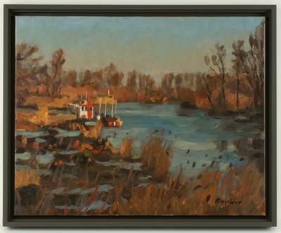 Werkhaven, Biesbosch bij de Spieringsluis