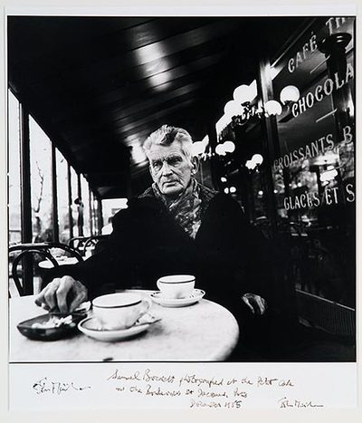 Image from object titled Samuel Beckett, (Boulevard St. Jacques, Paris 1985)