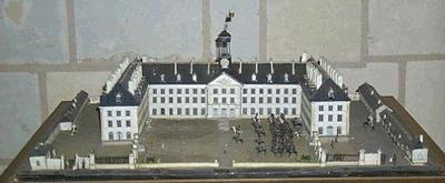 maquette d'architecture ; Maquette de l'école de Cavalerie de Saumur