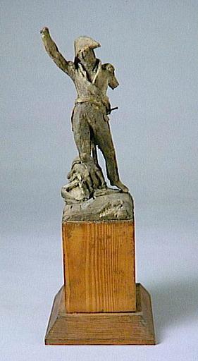 maquette de sculpture ; Le maréchal Ney (Sarrelouis, 1769-Paris, 1815)