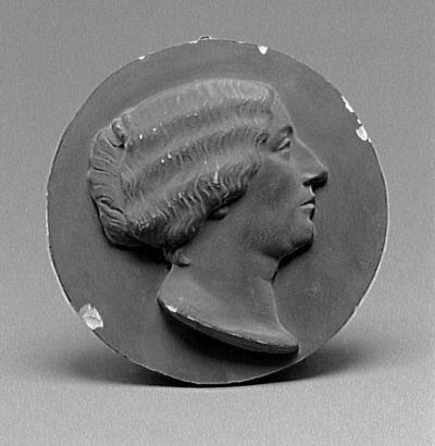 médaillon ; Portrait de femme [Madame Jay ?]
