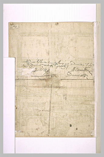 Image from object titled contrat ; Annotation manuscrite (contrat)