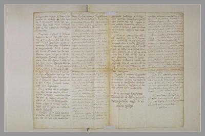 album ; Texte manuscrit en latin et en grec