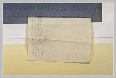 Image from object titled Note manuscrite