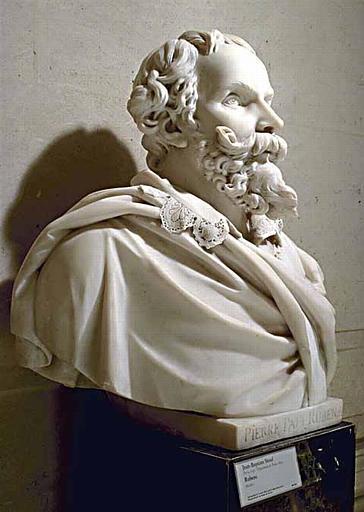 buste ; Pierre Paul Rubens (Siegen, 1577-Anvers, 1640)