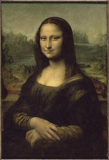 Image from object titled tableau ; PORTRAIT DE MONA LISA (1479-1528) ; DITE LA JOCONDE