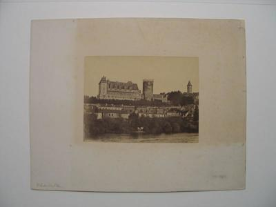 tirage photographique ; Château de Pau, façade sud
