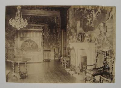 Image from object titled Chambre de Jeanne d'Albret (au registre supérieur) ; Tirage(s) photographique (s) (au registre supérieur)