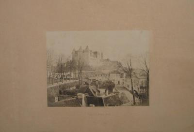 tirage photographique (élément d'ensemble) ; album ; Le Château de Pau