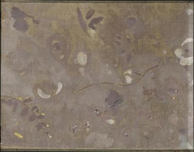 tableau ; Petit panneau gris II