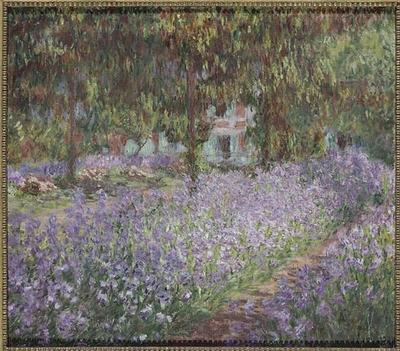 Image from object titled tableau ; Le jardin de l'artiste à Giverny
