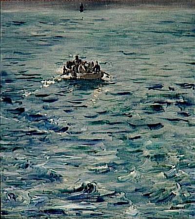 tableau ; L'évasion de Rochefort
