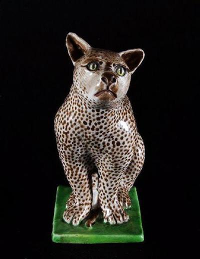 statuette ; lynx