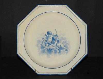 assiette (octogonale)
