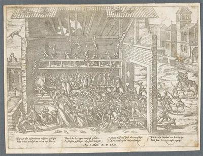 Massacre de Wassy. 1er Mars 1562
