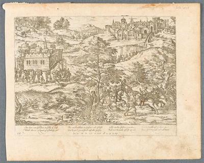 L'entreprise d'Amboise découverte. Mars 1560