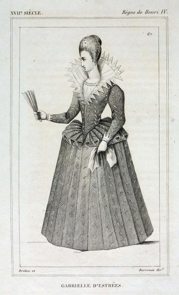 album ; Gabrielle d'Estrées (titre inscrit)