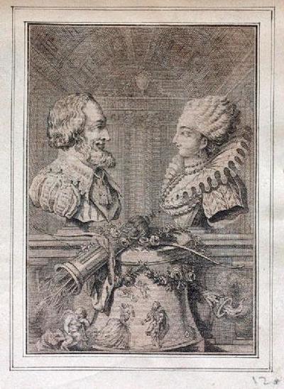 Henri IV et Gabrielle d'Estrées