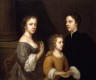 Self portrait of Mary Beale with her husband and son