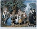The Benevolent Heir or The Tenant Restored to his Family / L'Heritier Bienfaisant out Le Fermier Rendu à sa Famille