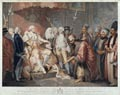 His Majesty King George III and the Officers of State Receiving the Turkish Ambassador and Suit