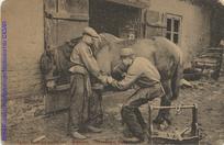 Tartu : hobuserautamine = Юрьевъ : подкованiе лошади