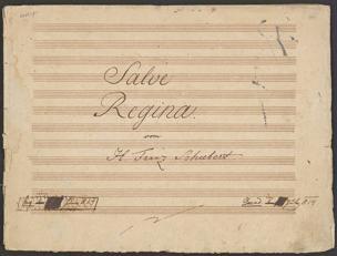 Salve Regina / Franz Schubert